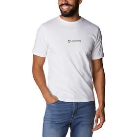 Columbia CSC Basic Logo Camiseta Manga Corta Hombre, blanco